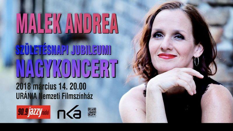 Zenészlegendákkal ünnepeli születésnapját Malek Andrea