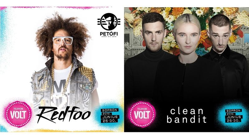 Teljes lesz az őrület Sopronban – Redfoo és a Clean Bandit a VOLTon