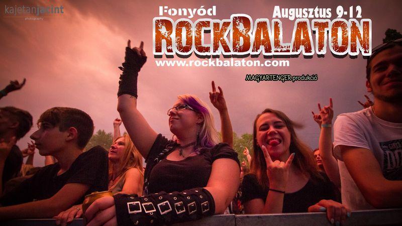 Legendák és a jelenkor kedvenceinek találkozása a RockBalatonon, ahol csak élő zenét hallhatsz!