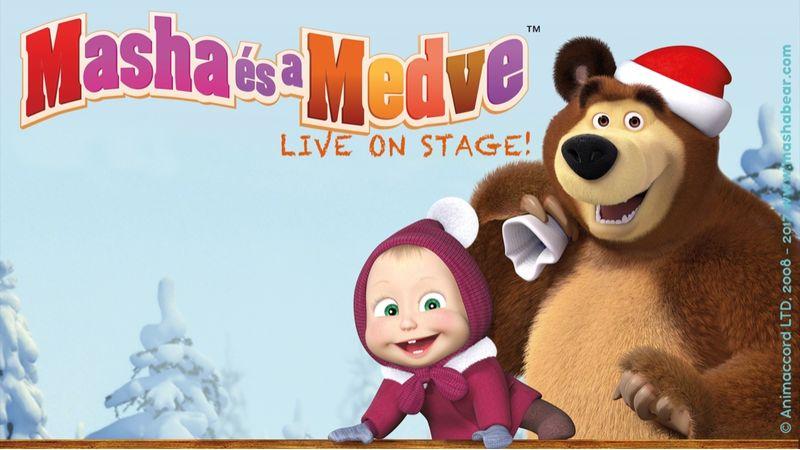 Decemberben jön a gyerekek kedvenc meséjének zenés változata, a Masha és a Medve
