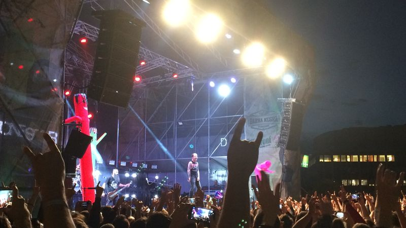 Corey imádta a magyar közönséget: Stone Sour koncerten jártunk