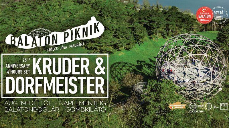 Balaton Piknik: Kruder & Dorfmeister DJ szett naplementéig