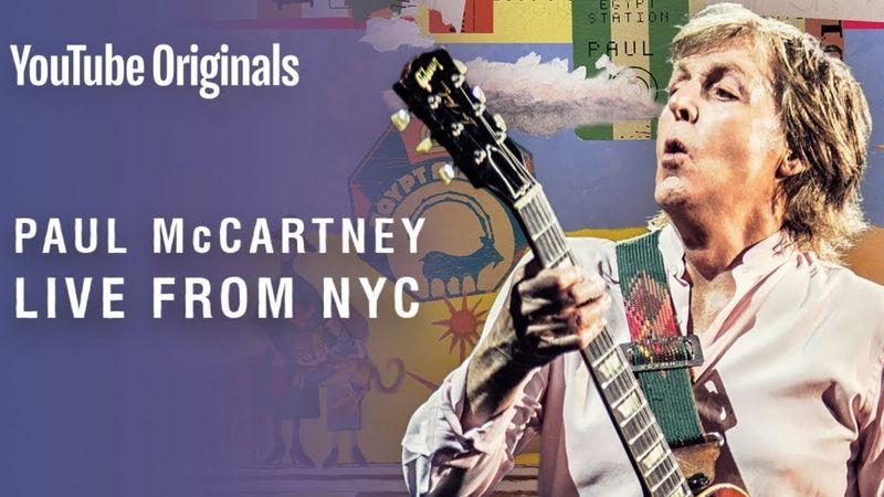 Mindenki ingyen megnézheti Paul McCartney lemezbemutató koncertjét!