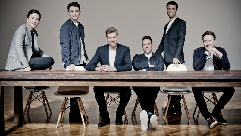 A The King's Singers (Fotó: Marco Borggreve)