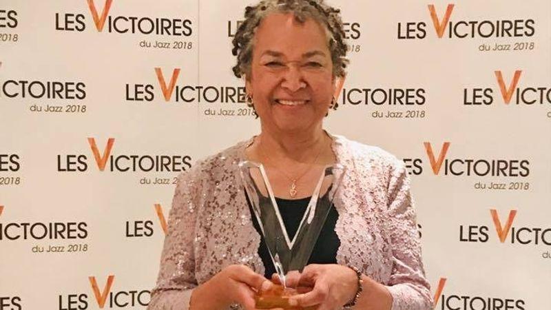 Rhoda Scott nemmrég rangos elismerésben részesült Franciaországban, többekkel együtt megkapta a Victoires du Jazz 2018 díjat