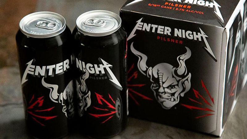 Enter Night: a whisky után itt a Metallica söre