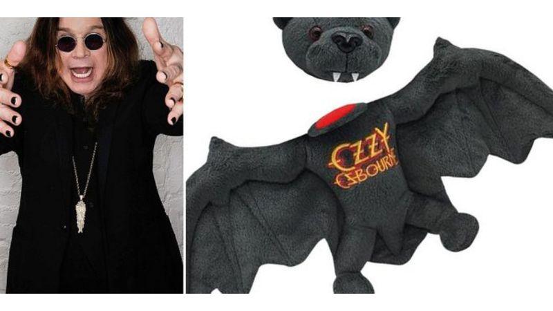 Ez teljesen beteg: leharapható fejű plüssdenevért dobott piacra Ozzy Osbourne