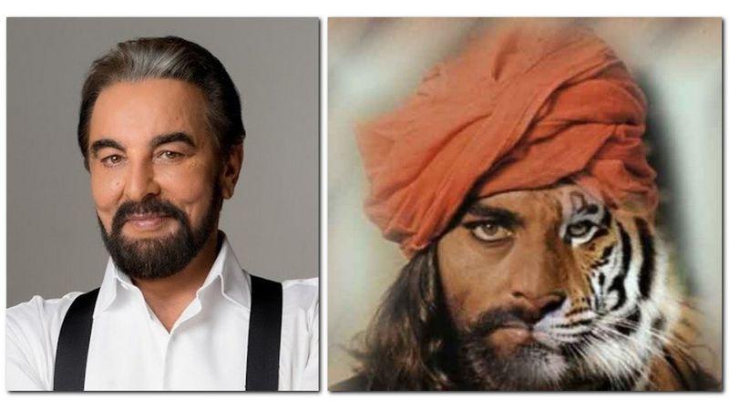 Kabir Bedi örökbefogad egy (hím) tigrist