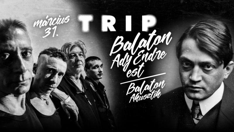 Ady Endre a Balatonban – színházkoncert a Trip hajón