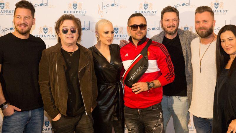 A meghívott zenészek ( Fotó: budapestdal.hu)