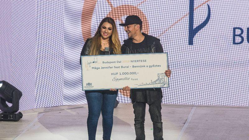 Mága Jennifer lett a Budapest Dala 2019 nyertese