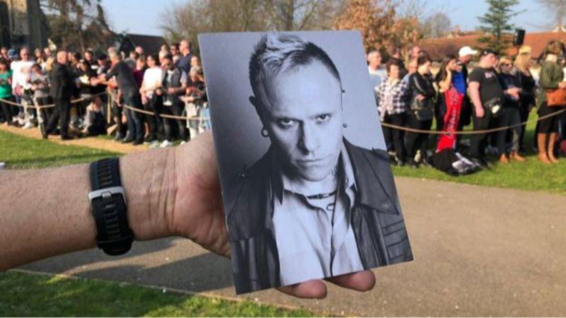 Keith Flint temetése (BBC)