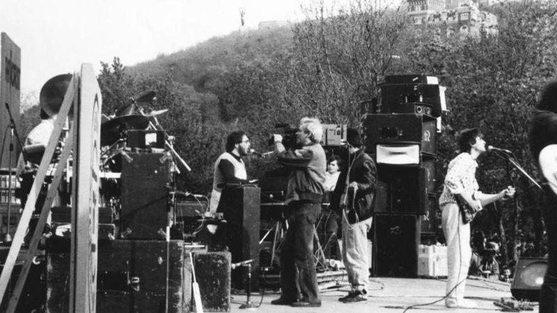 1985. LGT koncert a Tabánban/ FORTEPAN