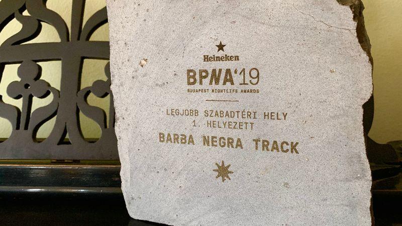 Újabb elismerésben részesült a Barba Negra