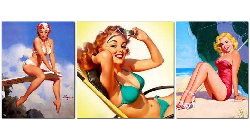 Pin-up fürdőruhás lányok, koncertek és limboverseny a vintage weekenden