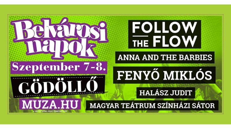 Gödöllői mulatság Fenyő Miklós, Halász Judit és az Anna and the Barbies társaságában