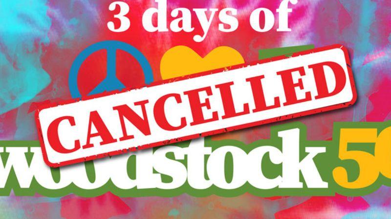 Game over: hősies üzdelem után végleg elbukott a Woodstock 50 Amerikában