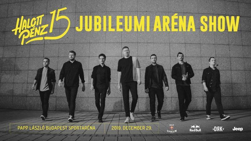 Szólóprojektként indult, decemberben jubileumi show az Arénában: Halott Pénz 15