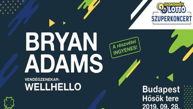 Ingyenes Bryan Adams koncert lesz a Hősök terén!
