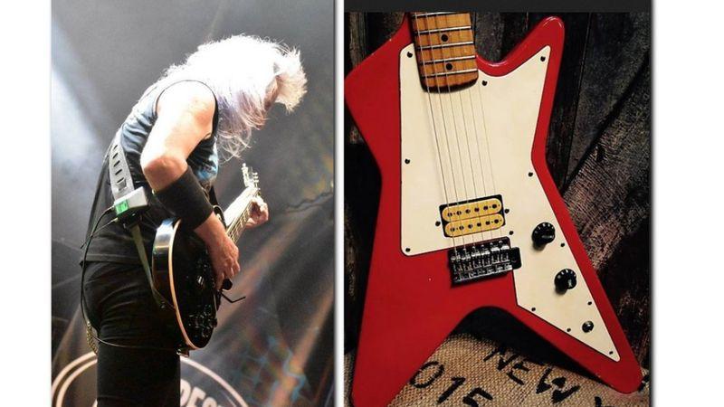A LORD zenésze visszavásárolná a gitárját