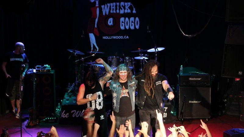 Amerikában, a legendás Whisky a Go Go-ban lép fel a Tankcsapda, a Junkies és a Rómeó vérzik