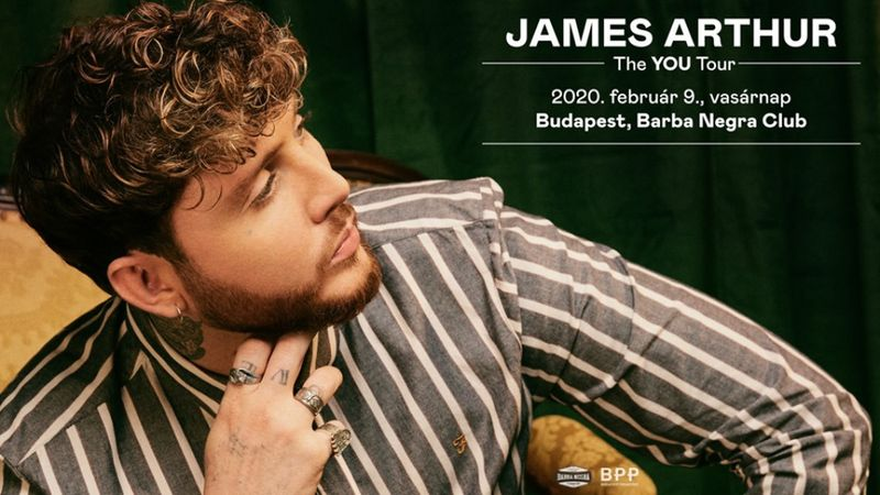 A Budapestre készülő James Arthur Travis Barkerrel készített új dalt