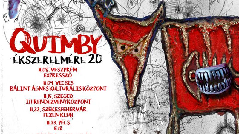 Legyen a Quimbynek halleluja – turnéval ünneplik meg az idén 20 éves Ékszerelmére albumot