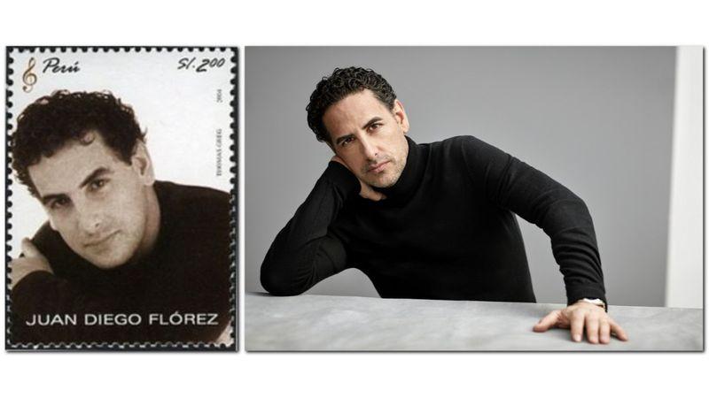 Peruban bélyeget is bocsájtottak ki az arcképével: Juan Diego Flórez Budapestre jön