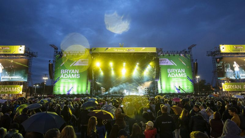Több mint 70 ezren voltak kíváncsiak Bryan Adamsre