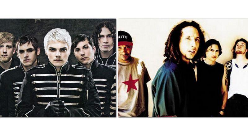 Melyik banda visszatérésének örültök jobban: Rage Against The Machine vagy My Chemical Romance?