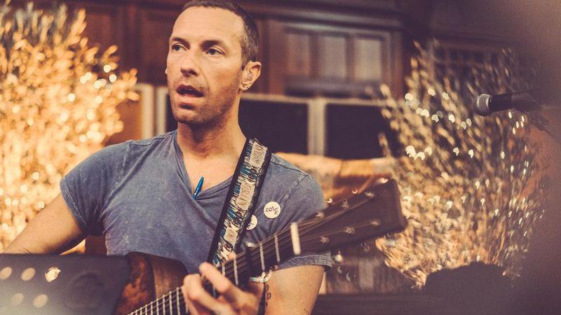 Fotó: Ammanban próbál a zenekar (Coldplay/FB)