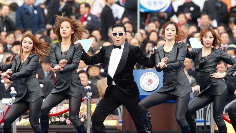 Psy, a leghíresebb K-pop-sztár