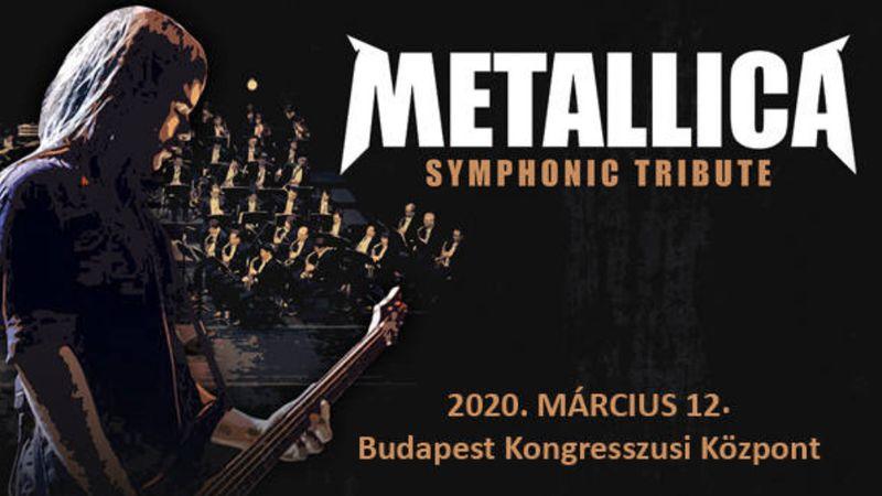 A Metallica Symphonic Tribute Budapestre jön