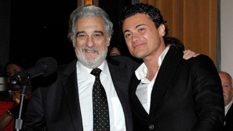 Grigolo és Domingo 2011-ben Los Angelesben (Dan Steinberg/AP Photo)