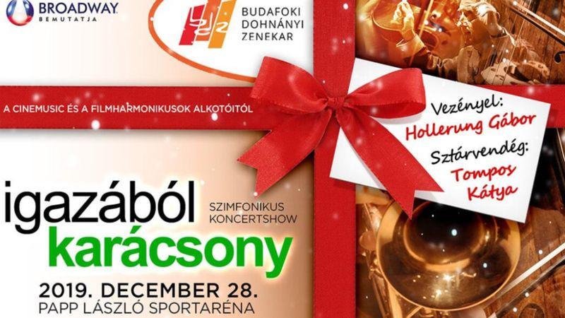 Légtornászok, táncosok, 160 fős kórus: így karácsonyozik a Budafoki Dohnányi Ernő Szimfonikus Zenekar