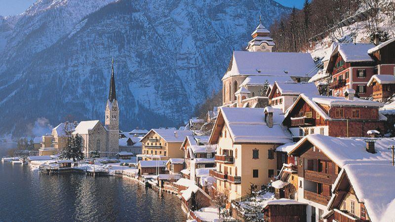 A Jégvarázs megdermesztette az osztrák települést