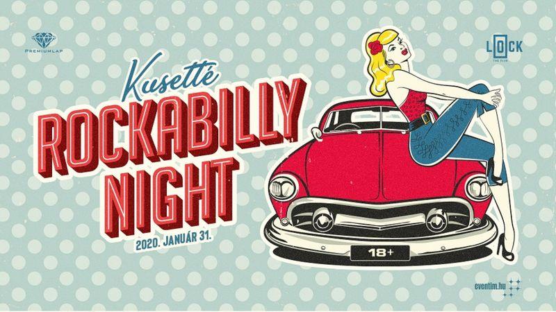 Kusetté Rockabilly Night a Mystery Gang vezetésével