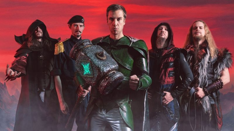 Gloryhammer - Nekrogoblikon - Wind Rose hármas lép fel jövő héten a Barba Negrában