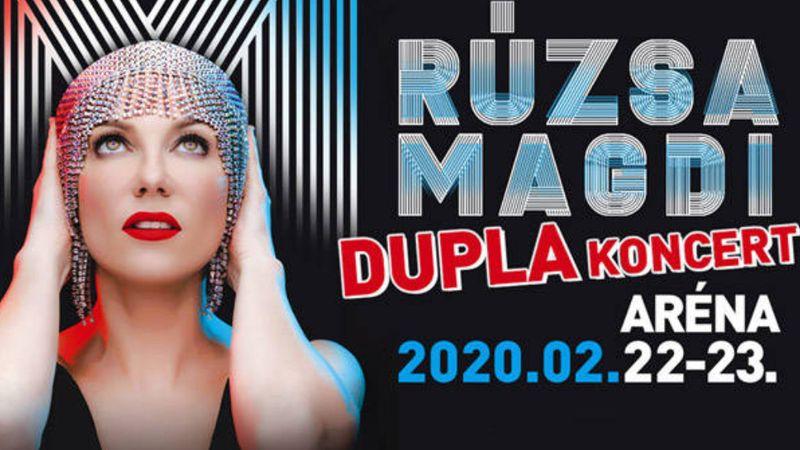 Így készül Rúzsa Magdi az arénás dupla koncertre