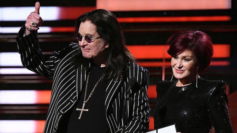 Ozzy a Grammy-gálán 2020-ban. (FB)
