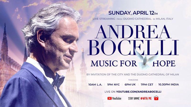 Életében nem énekelt még ennyi ember előtt a milánói dómban Andrea Bocelli
