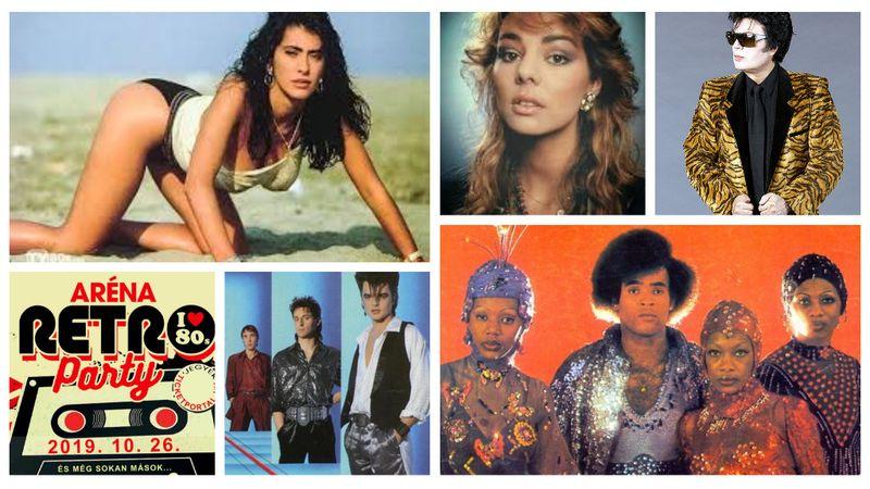 Sandra, Boney'M, Sabrina, Fancy  – Bazinagy retróparti lesz az Arénában