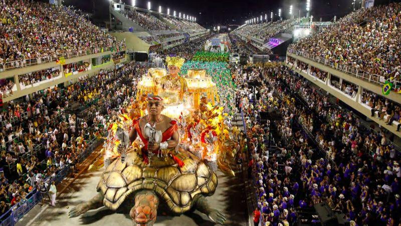 Így alakult át a riói karnevál hatalmas szambastadionja a járvány alatt