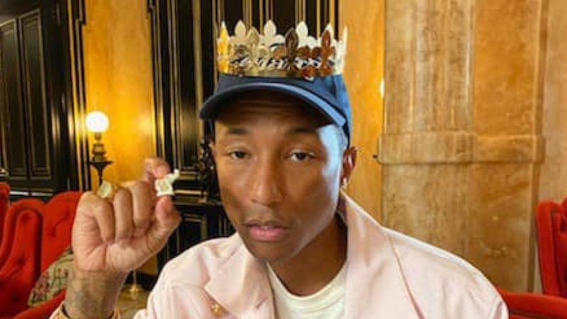 Ki a király? :) (Fotó: Pharrell Williams)
