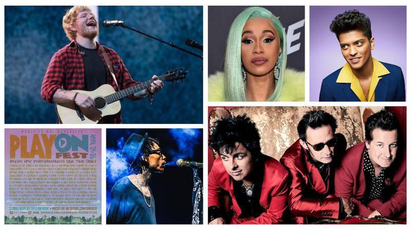 Soha vissza nem térő alkalom: Ed Sheeran, Bruno Mars és a Green Day is fellép a PlayOn Festen