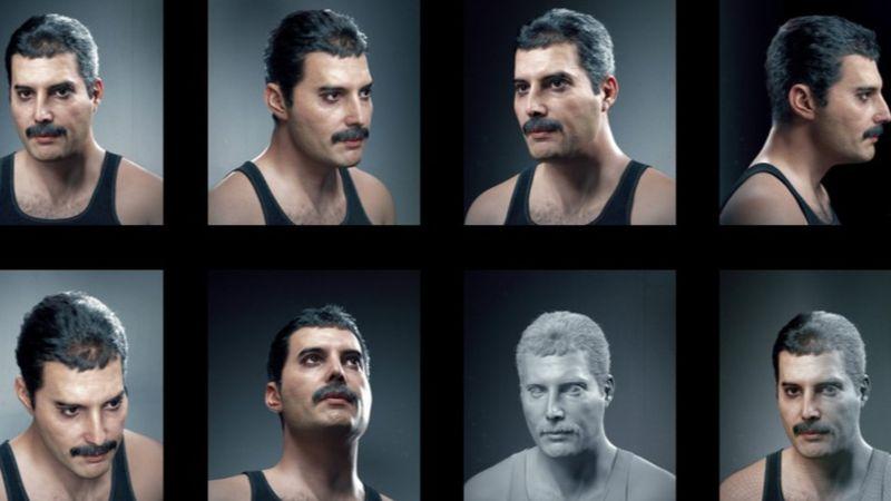 Hadi Karimi legújabb 3D szobra: Freddie Mercury