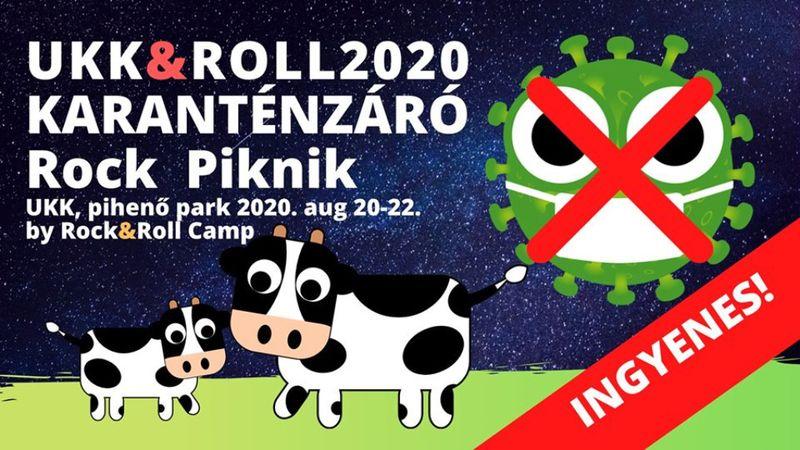 Ukk&Roll 2020 Karanténzáró Rock Piknik