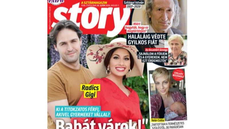 Végre valami jó hír: Radics Gigi babát vár