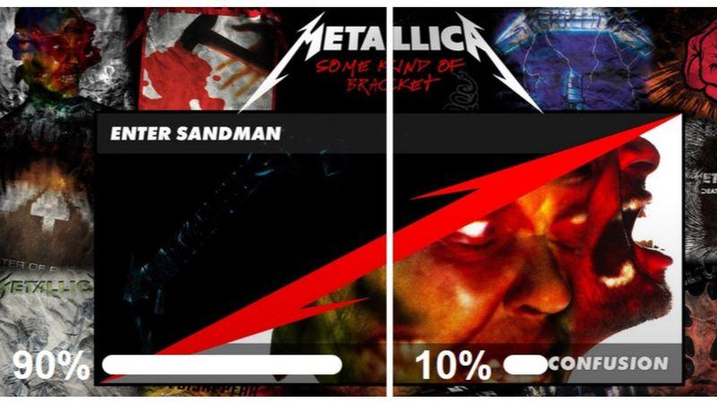 Ezt a mérkőzést egyértelműen az Enter Sandman nyerte...