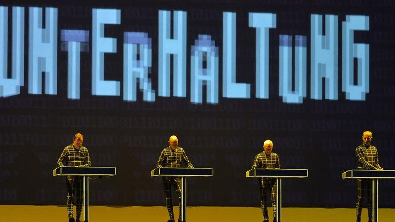 A Kraftwerk a berlini Lollapalooza Festivalon. természetesen, nem idén...